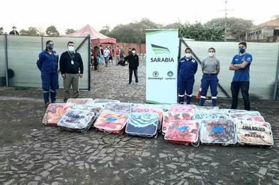Grupo Sarabia presenta campaña solidaria