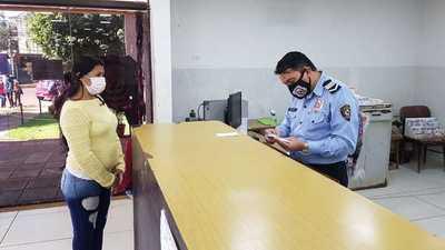 Identificaciones de la Policía opera bajo estrictas medidas de prevención