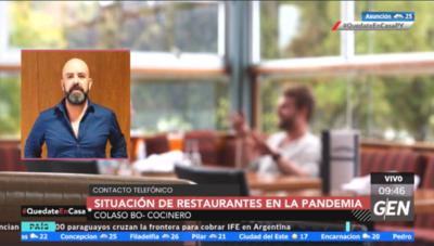 HOY / Colaso Bo, cocinero y representante del sector gastronómico, sobre situación de restaurantes en la Pandemia