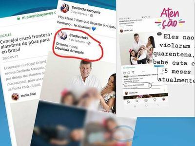 Perifonero del Clan Acevedo publica fotos antiguas para difamar a Concejal Guardatti