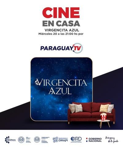 Virgencita Azul este miércoles en Cine en Casa por Paraguay TV