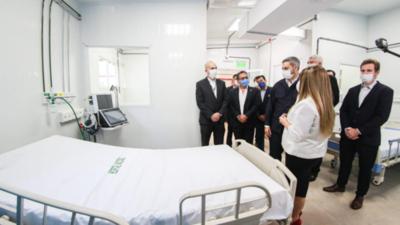 Madrastra de Mazzoleni tiene vínculos familiares con empresa que construyó hospitales de contingencia