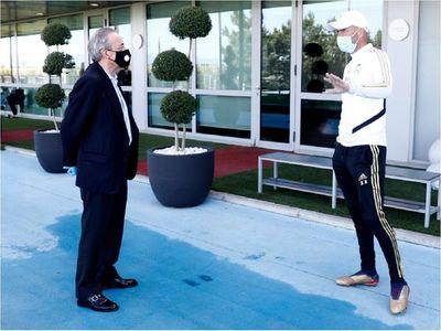 Los tres puntos principales de la charla entre Florentino y Zidane
