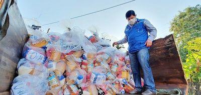 Plan Internacional entrega kits de alimentos a familias de Caaguazú