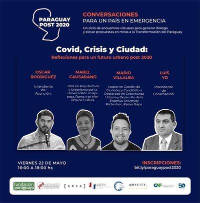 Académicos, Políticos y Ciudadanos debatirán sobre la co-creación de una Agenda Urbana post 2020 en Paraguay