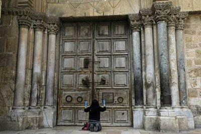 Santo Sepulcro en Jerusalén se va reabrir este domingo
