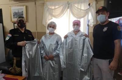 Penitenciaría de Misiones dona más de 200 batas de bioseguridad a hospitales