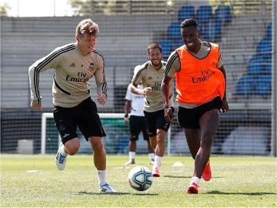 Real Madrid inicia la tercera semana de entrenamientos dividido en tres grupos