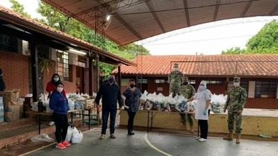 HOY / Kits de almuerzo escolar: Continúa distribución a 16 instituciones educativas de Asunción