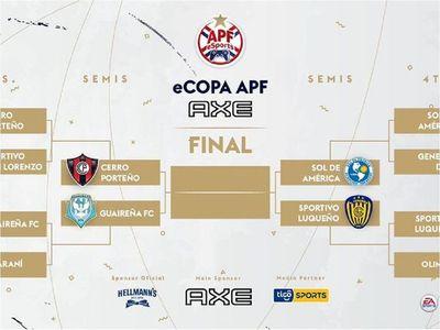 Semifinales confirmadas del torneo eSports de la APF