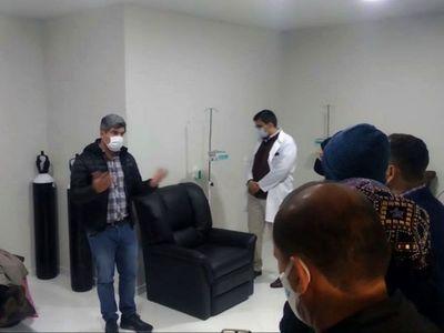 Por primera vez, el Hospital   de CDE  dispone de    servicio de  quimioterapia