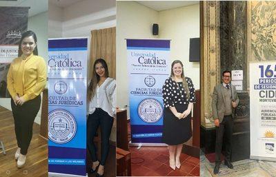ESTUDIANTES DE DERECHO UCI LOGRAN IMPORTANTE PREMIO EN COMPETENCIA INTERNACIONAL