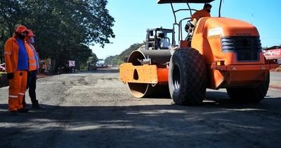 CDE: Intensifican obras para futuro mutiviaducto en Ruta PY02