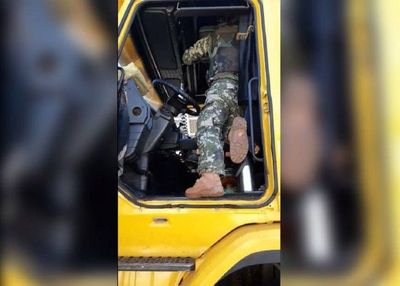 Los camioneros no quieren que se les controle al volver del lado brasileño – Diario TNPRESS