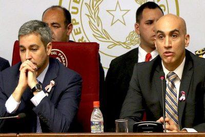 Mario Abdo: críticas a Mazzoleni son por temor a su alta aceptación popular