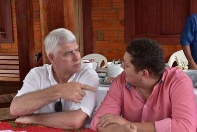 Ni en informes ministro Arnoldo Wiens habla sobre obras en el departamento de Amambay