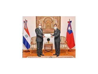 Chih-Cheng Han es nuevo embajador de Taiwán en Paraguay
