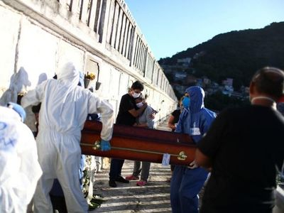 Brasil llega a 26.754 muertos y tiene récord diario de 26.417 casos