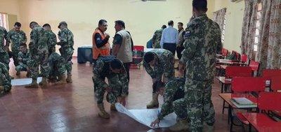 9 militares en cuarentena tras tener contacto con camarada con covid-19