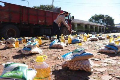 Auxilio a comunidades indígenas: En marcha la caravana de ayuda humanitaria