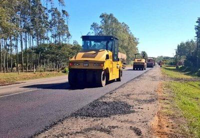 Bachean y recapan el tramo Paraguarí – Villarrica