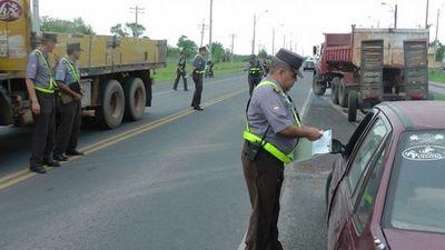 Caminera pospone control de documentos vencidos hasta el 30 de junio