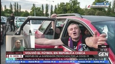 HOY / Volvió el fútbol en República Checa