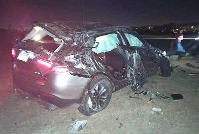 Imputan a conductor, tras feroz choque en Costanera