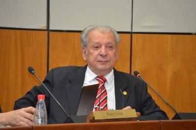 Internaron al senador Juan Carlos Galaverna