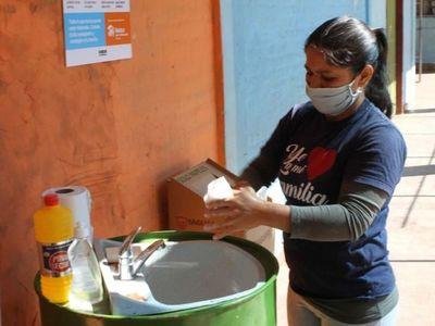 Proveen insumos sanitarios en Chacarita