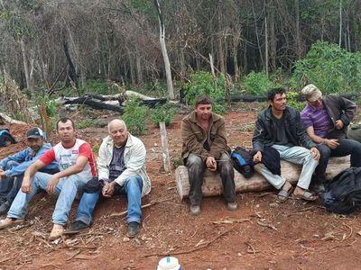 Enfrentamiento en Reserva Morombi deja 6 aprehendidos