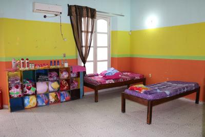 Ante el frío, habilitan refugio para niños, niñas y adolescentes