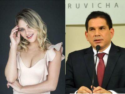 Susan confirmó su  romance con el gobernador Baruja