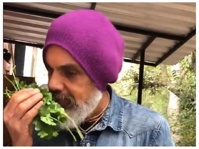 Afirma que las verduras de su huerta son deliciosas