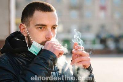 Fumadores tienen un mayor riesgo de desarrollar síntomas graves y de fallecer a causa de Covid19