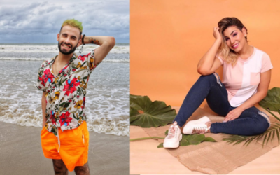 """Opa el amor entre Jessi Servín y el vocalista de """"Mama Santa"""""""