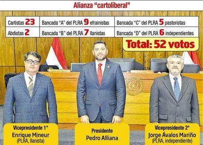 Pacto carto-liberal reelige a Alliana en Diputados