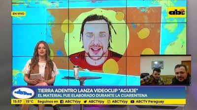 """Tierra adentro presenta el videoclip de """"Aguije"""""""