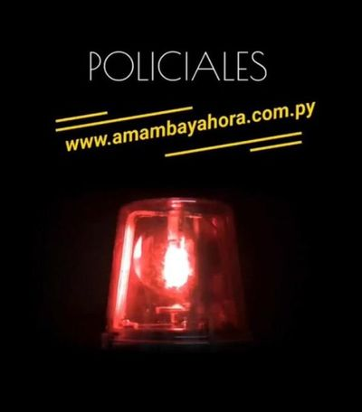 Informe Policial Amambay