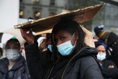 Miles protestan en varios países en apoyo del movimiento