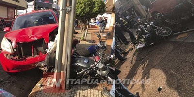 ACCIDENTE EN PLENO CENTRO DE ENCARNACIÓN.