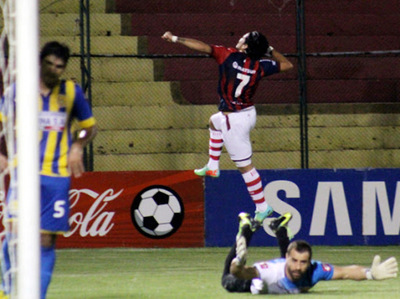 Aquí recordamos los goles de Guillermo Beltrán al Deportivo Capiatá
