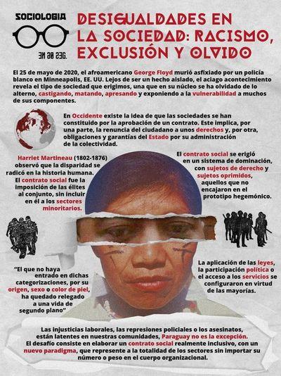 Desigualdades en la sociedad: racismo, exclusión y olvido
