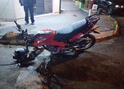 Grave accidente en pleno centro de Luque • Luque Noticias