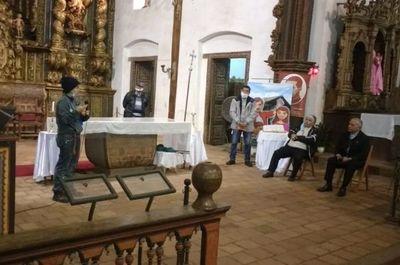 Presentan propuesta para  trabajos preliminares en templo de Yaguarón