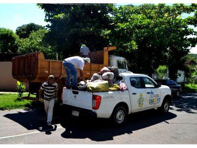 Crisis    por basura y escasa recaudación en Caacupé