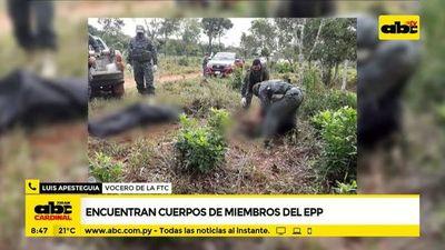 Encuentras cuerpos de miembros del EPP