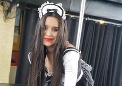 """Pamela Vill """"calentó"""" las redes con un tremendo show"""
