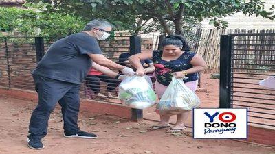 """""""Yo dono Paraguay"""" supera los 700 kits entregados"""