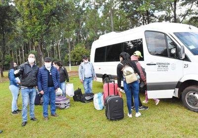 Albergue en predio militar en Itapúa sin huéspedes, tras alta de 34 compatriotas que cumplieron cuarentena